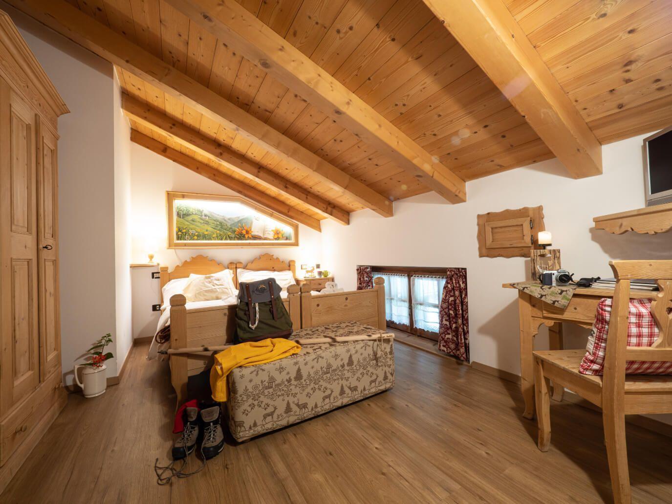 camera Alpinista_Chalet_Alpenrose_Val_di_Pejo_Trentino